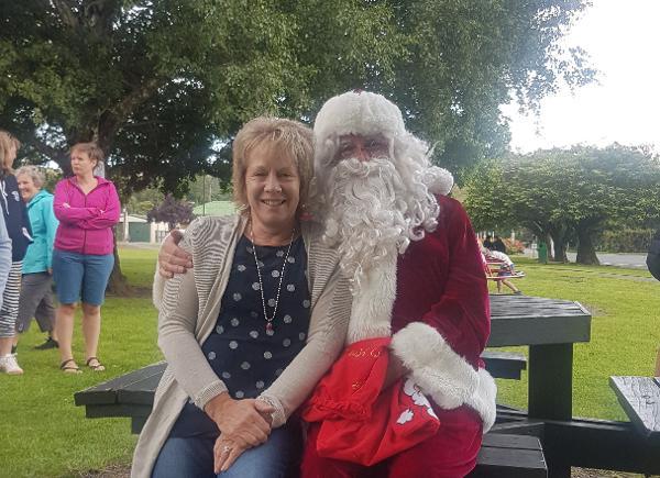 Santa on The Village Green